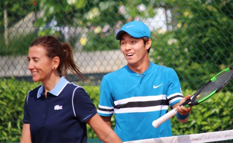 Lee nella storia, primo tennista sordo a superare un turno