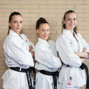 Sara Battaglia, Michela Pezzetti e Terryana D'Onofrio