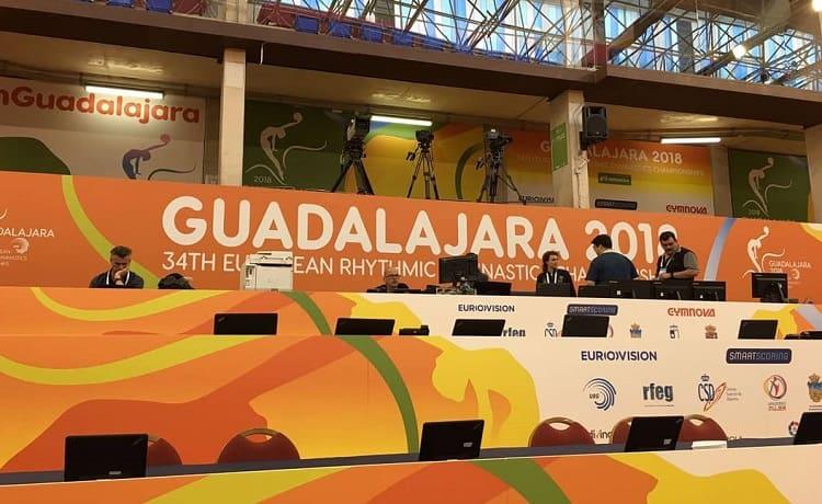 Campionati Europei Guadalajara ginnastica ritmica 2018