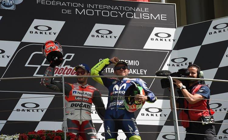 Andrea Dovizioso e Valentino Rossi - Foto Antonio Fraioli