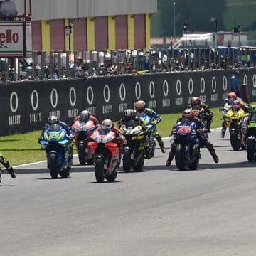 Partenza MotoGP - Foto Antonio Fraioli