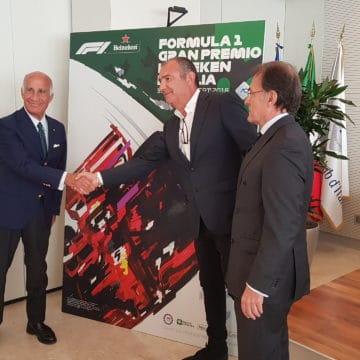 Angelo Sticchi Damiani, Giuseppe Redaell e Aldo Drudi