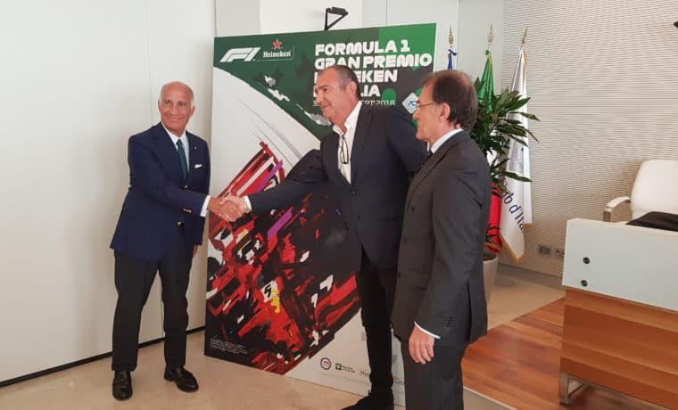 F1: svelato il manifesto del Gp d'Italia