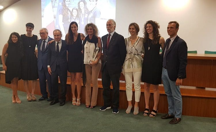 Basket 3X3 Marcella Filippi, Giulia Rulli, Giulia Ciavarella, Rae Lin D'Alie, Angela Adamoli