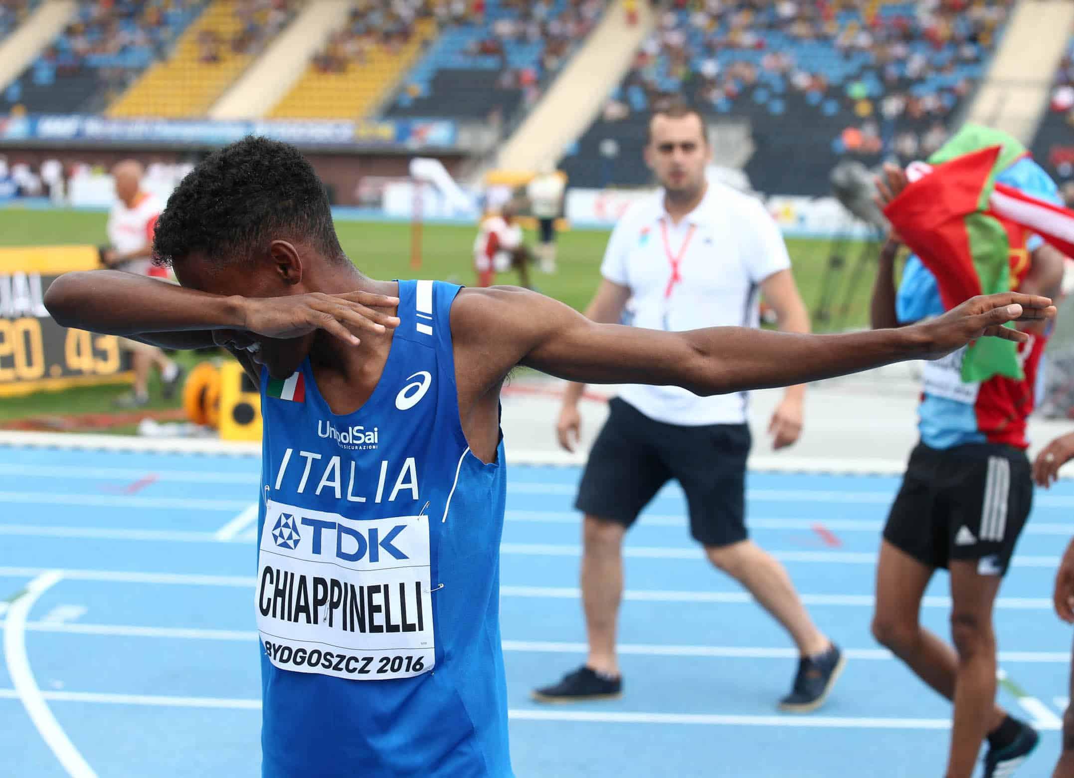 Yohanes Chiappinelli - Foto FIDAL/Colombo