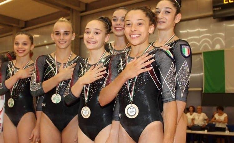 Giorgia Villa, Elisa Iorio, Alice D'Amato, Alessia Federici, Giulia Campagnaro, Giulia Cotroneo