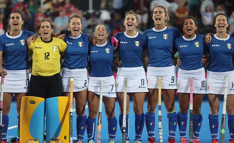 Hockey su prato Italia femminile Mondiali Londra