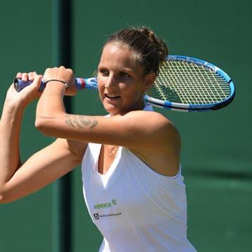 Karolina Pliskova, Wimbledon 2018