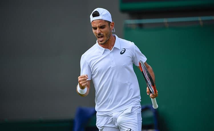Thomas Fabbiano, Wimbledon 2018