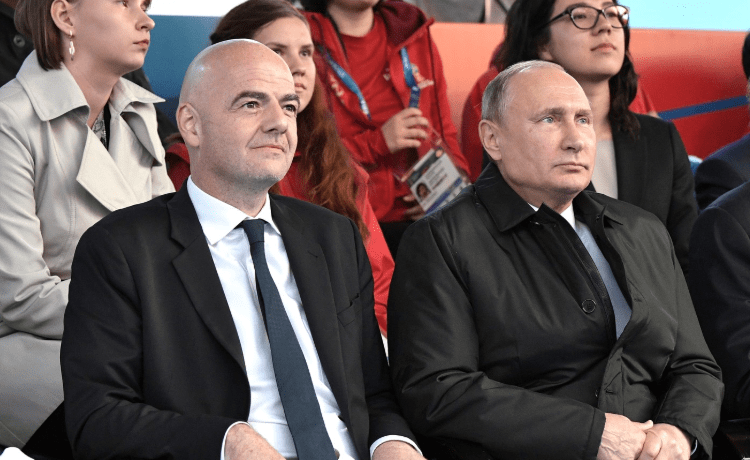 Gianni Infantino e Vladimir Putin - Foto en.kremlin.ru