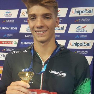 Alessandro Miressi Europei Glasgow 2018
