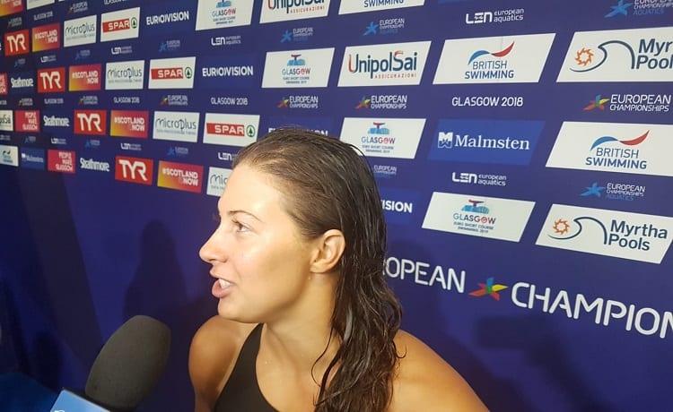 Arianna Castiglioni - Europei Nuoto Glasgow 2018