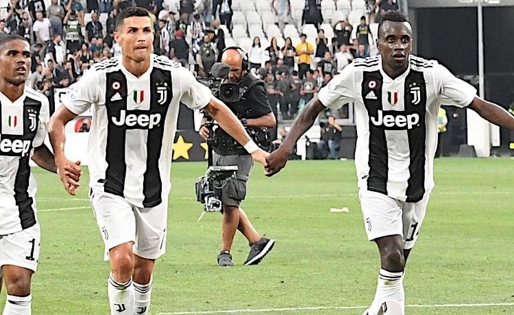 Douglas Costa, Cristiano Ronaldo e Blaise Matuidi