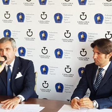 Marco Di Paola presentazione Mondiali equitazione 2018