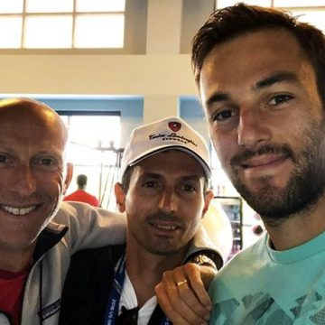 Umberto Ferrara, Simone Vagnozzi e Stefano Travaglia