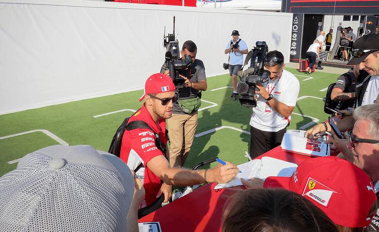 Sebastian Vettel - Foto Jen_Ross83 - CC-BY-2.0