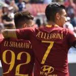 Stephan El Shaarawy e Lorenzo Pellegrini