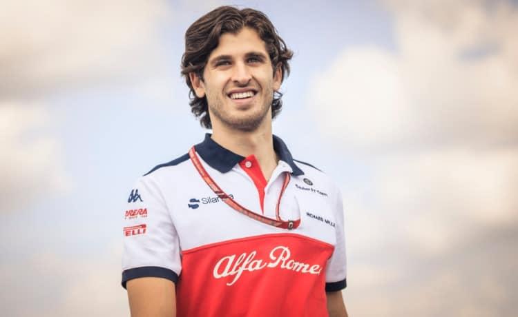 Antonio Giovinazzi - Foto profilo Twitter ufficiale Sauber