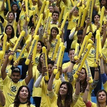 Brasile-Volley-Tifosi