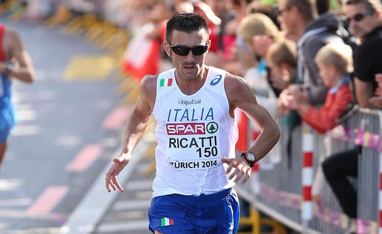 Domenico Ricatti - Foto FIDAL/Colombo