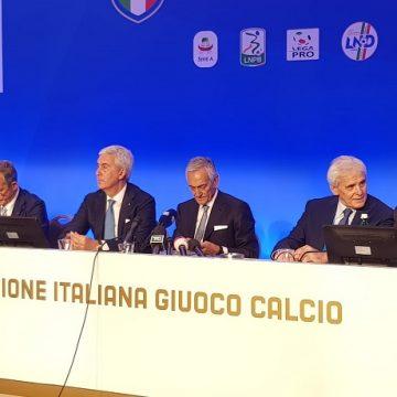 Assemblea elettiva Figc Gabriele Gravina