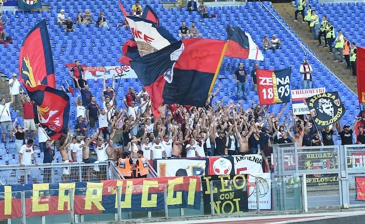Tifosi Curva Genoa