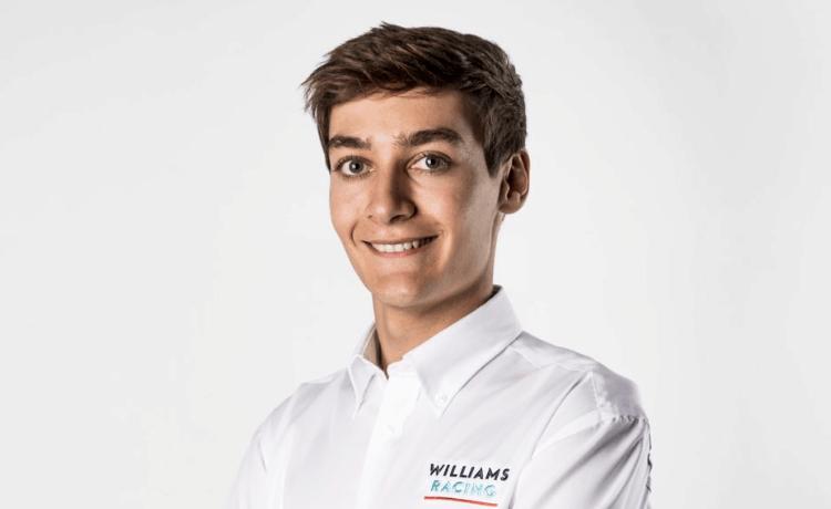 George Russell - Foto profilo Twitter ufficiale Williams