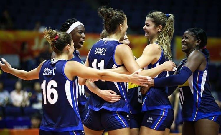 Mondiale Volley femminile, le statistiche individuali premiano l'Italia