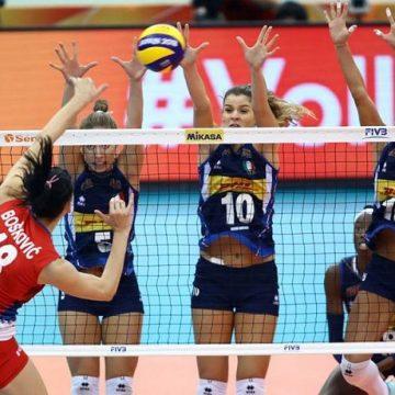 Italia-Serbia volley femminile