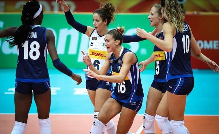 Calendario Femminile.Volley Preolimpico Femminile 2019 Il Calendario Delle