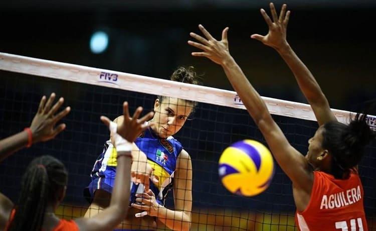 Mondiali Pallavolo Italia Calendario.Volleyball Nations League Femminile 2019 Il Calendario Di