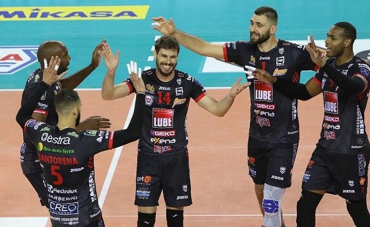 Volley maschile champions league lube civitanova modena data orario e diretta tv - Cucine lube civitanova ...