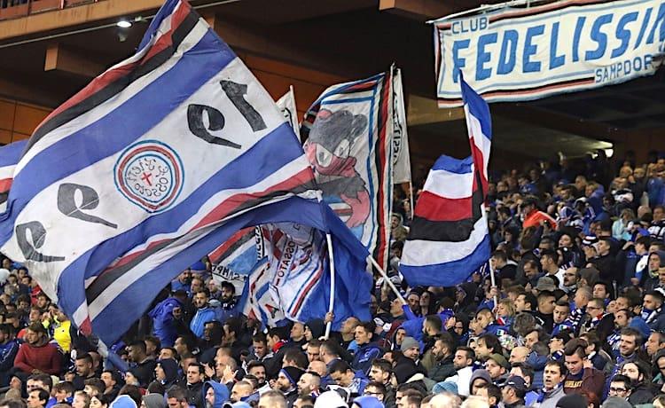 Tifosi Curva Sampdoria