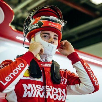 Charles Leclerc - Foto profilo Twitter Scuderia Ferrari