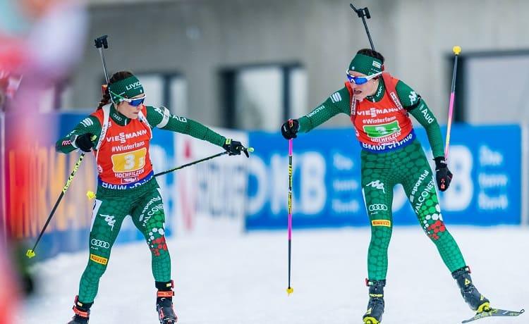 Dorothea Wierer e Alexia Runggaldier