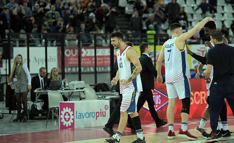 LIVE – Virtus Roma-Olimpia Milano 73-79 (4°Q), basket Serie