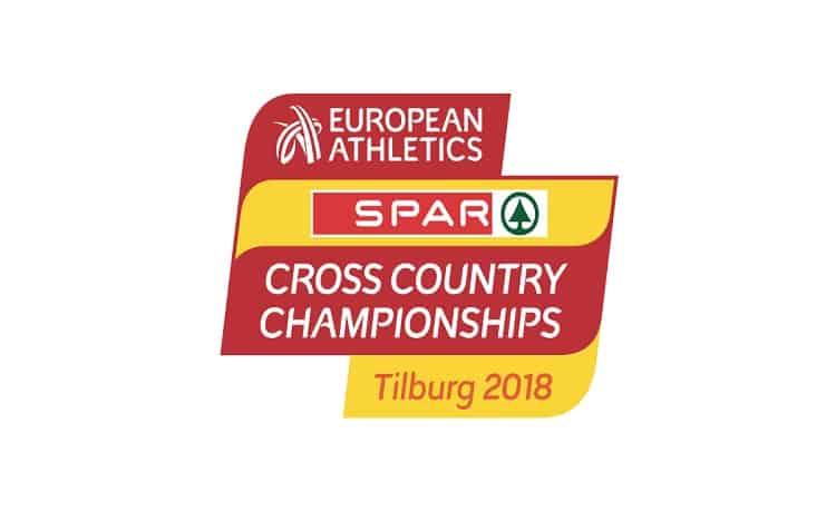Logo Europei cross Tilburg 2018