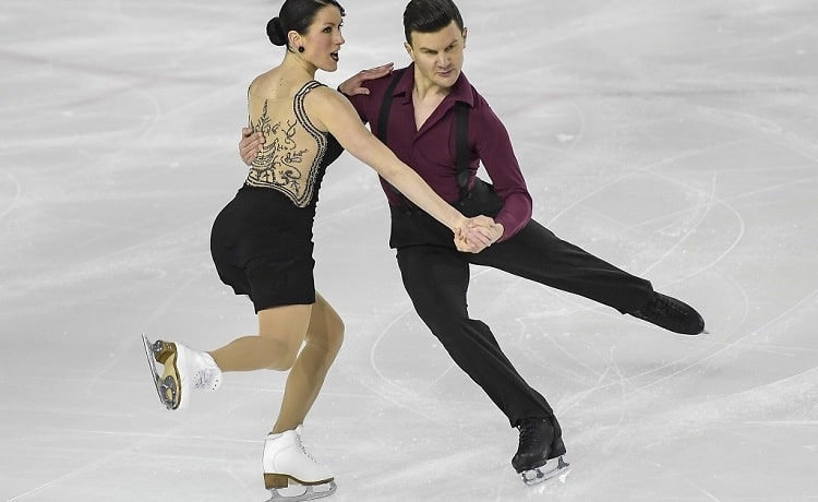 Charlene Guignard e Marco Fabbri