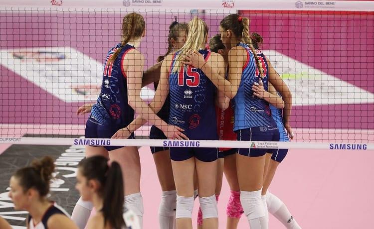 Volley, Serie A1 femminile 2019/2020: Scandicci batte Firenze in tre set - Sportface.it
