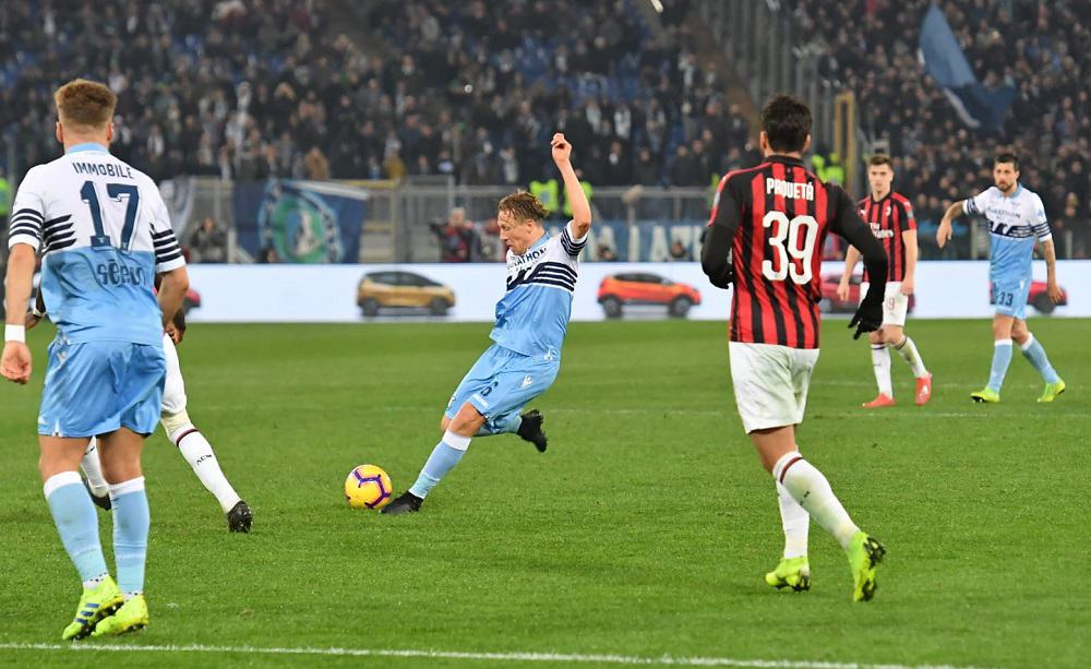 Lucas Leiva Lazio-Milan