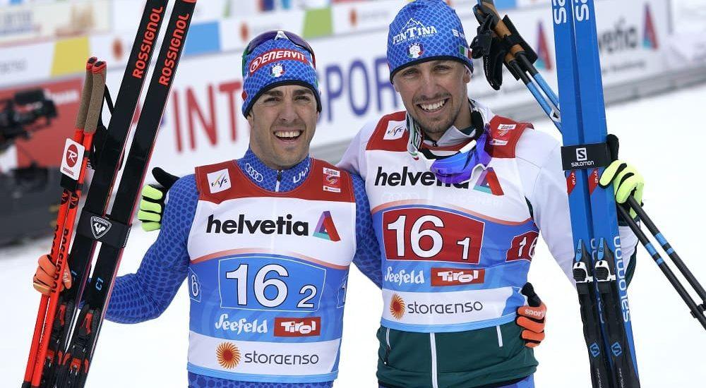 Federico Pellegrino e Francesco De Fabiani