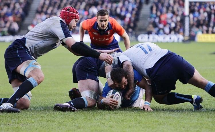 Scozia-Italia, Rugby Sei Nazioni 2019 - Foto Federugby.it