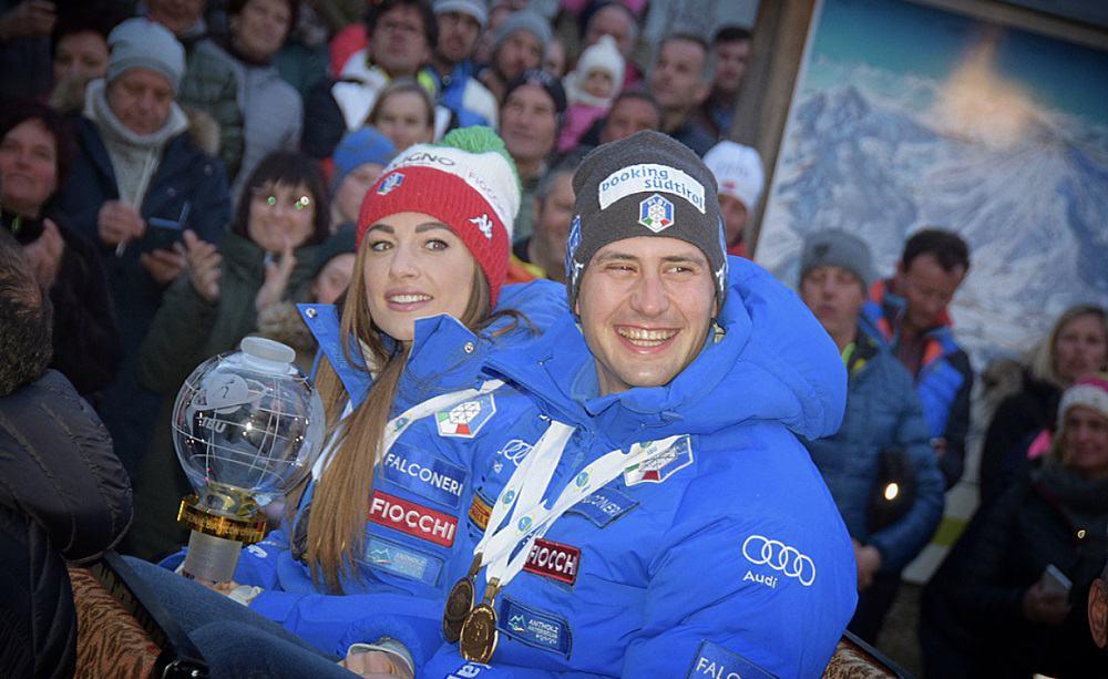 Dorothea Wierer e Dominik Windisch - Festa Anterselva