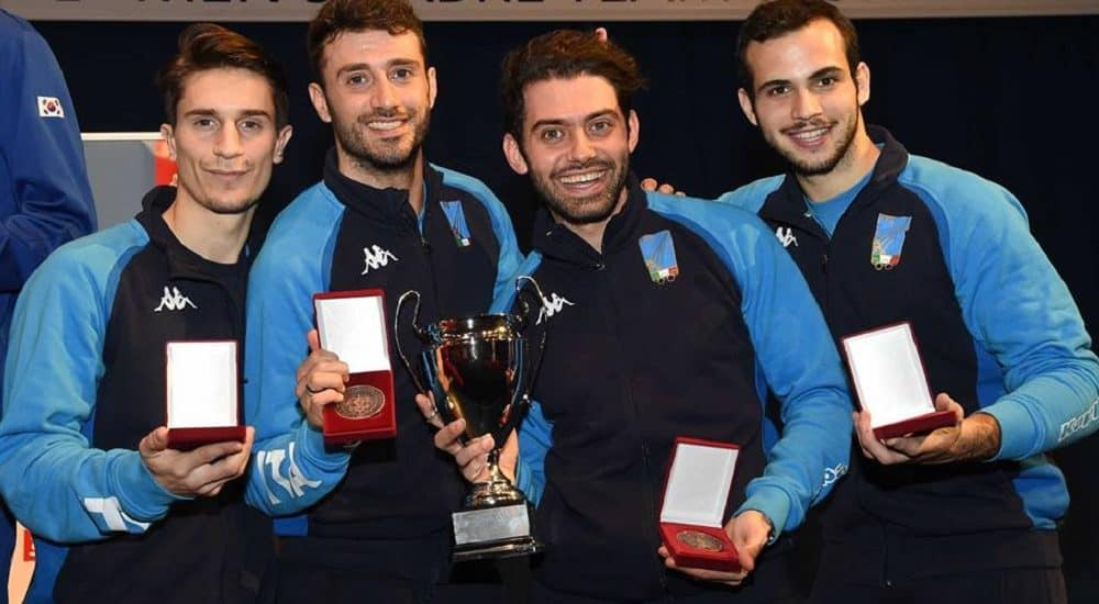 Luca Curatoli, Gigi Samele, Enrico Berrè, Dario Cavaliere