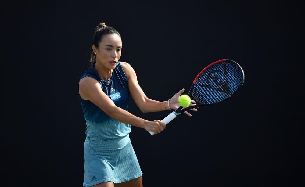 Qiang Wang - Foto Dunlop