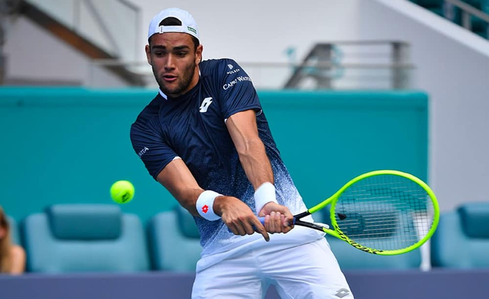 Tennis: Monaco, Berrettini in semifinale