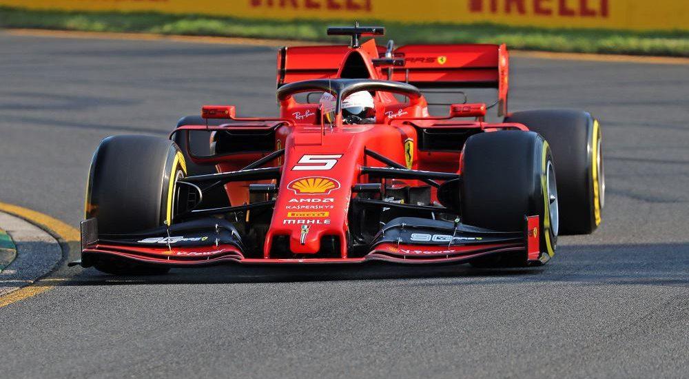 Sebastian Vettel, Ferrari F1 - Foto Bruno Silverii