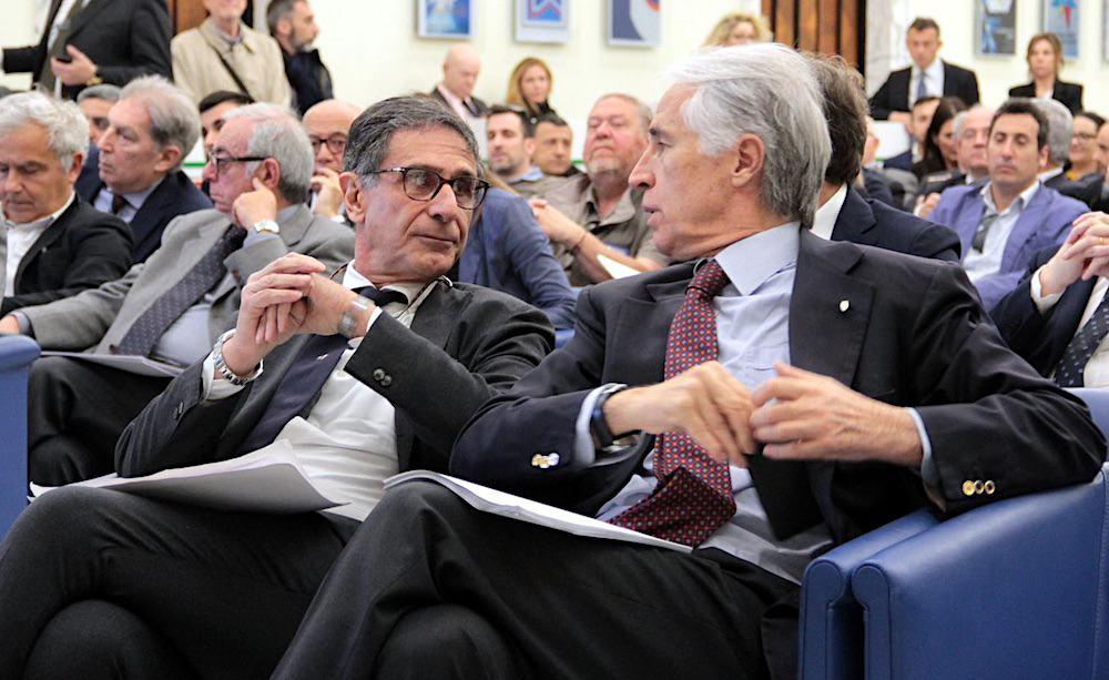 Claudio Barbaro e Giovanni Malagò
