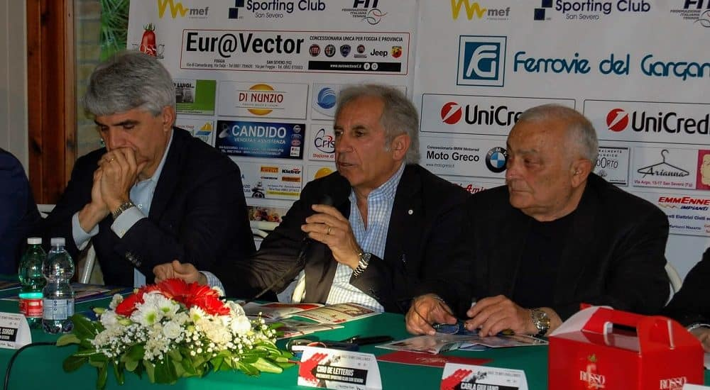 Conferenza stampa Race to MEF Challenger San Severo