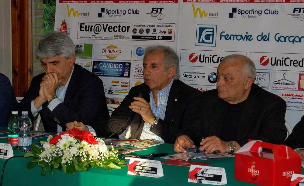 Conferenza stampa Race to MEF Challenger San Severo